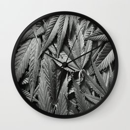 Leaves of forgotten culture Wall Clock