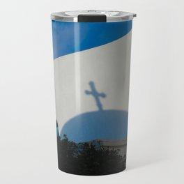 Greek Church Travel Mug