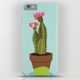 Green Pot Cactus iPhone Case