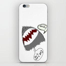am i scary yet? iPhone Skin