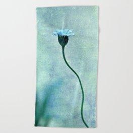 miss bleu Beach Towel