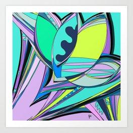 Libertad de Color Part 4 Art Print