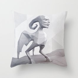 AMULET (lopol) Throw Pillow