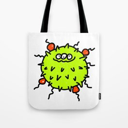 Green Bacteria Tote Bag