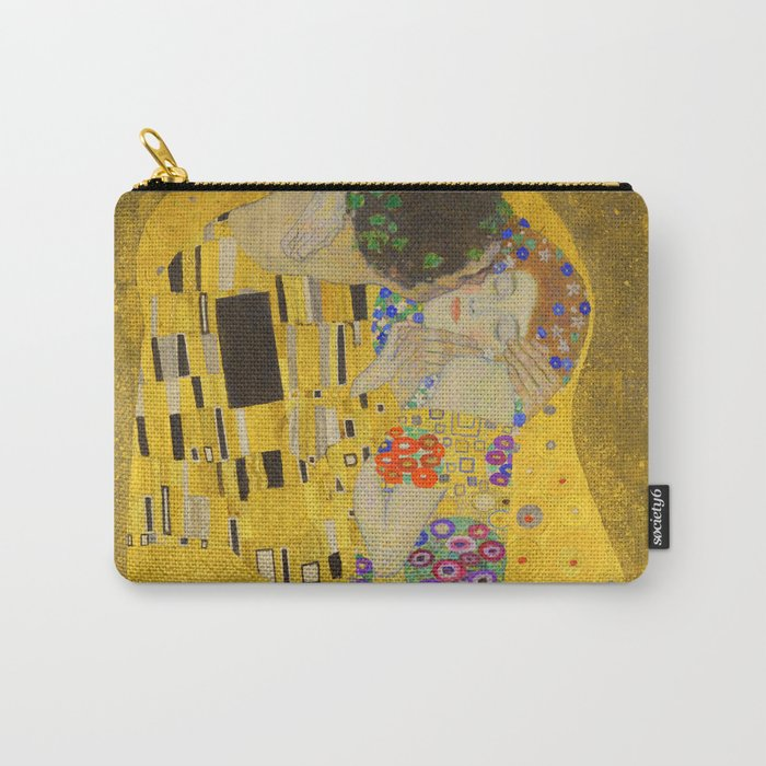 Gustav Klimt The Kiss Detail Carry-All Pouch