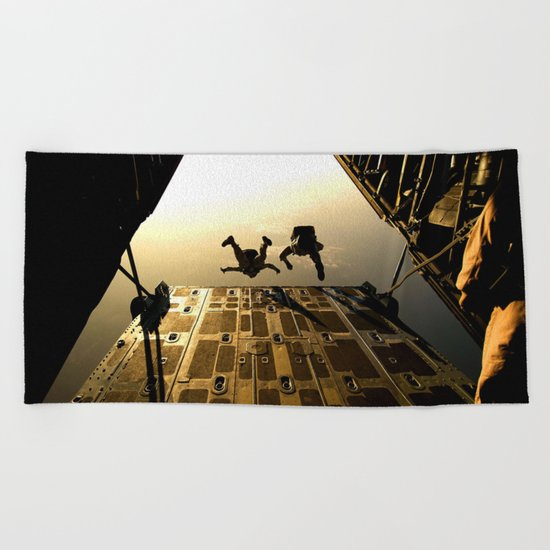 Not for me Beach Towel