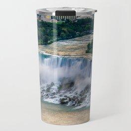 Niagara Falls at Dusk Travel Mug