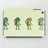 teenage mutant ninja turtles iPad Cases featuring Teenage Mutant Ninja Turtles by Glimy