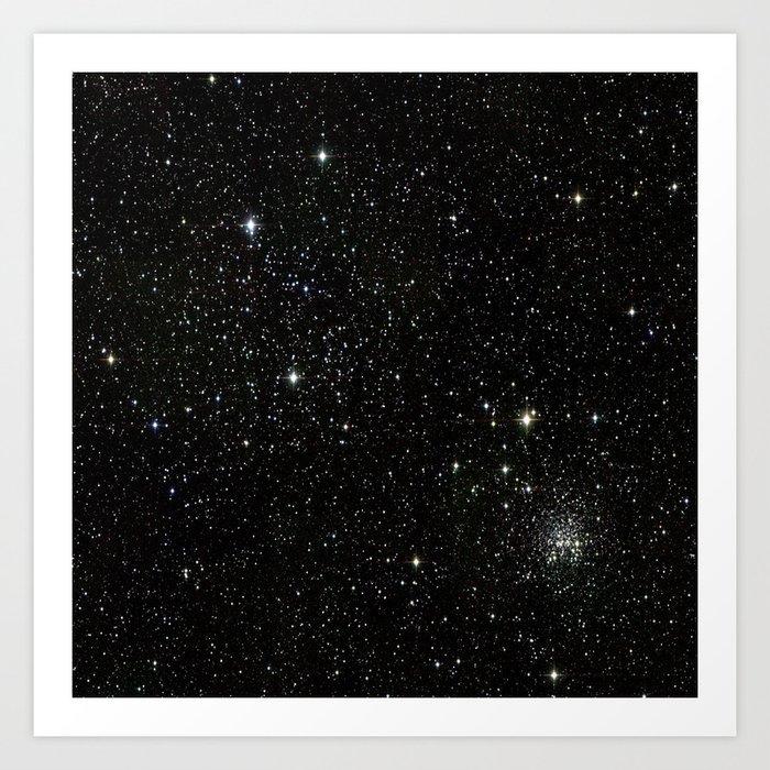 Space - Stars - Starry Night - Black - Universe - Deep Space Kunstdrucke