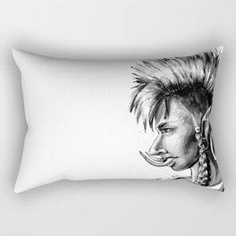 Punk Troll Rectangular Pillow