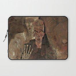 "Egon Schiele ""Self-Seer II (Death and Man)"" Laptop Sleeve"