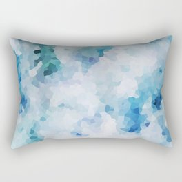 Foliage Crystals Rectangular Pillow
