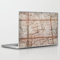 tape Laptop & iPad Skins featuring Tape Signs by Motif Mondial