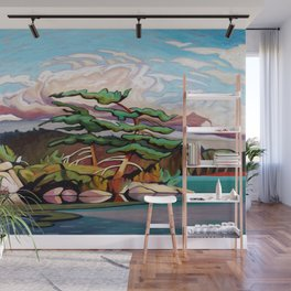 Juniper Islet by Amanda Martinson Wall Mural