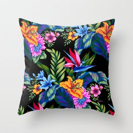 Jungle Vibe Throw Pillow