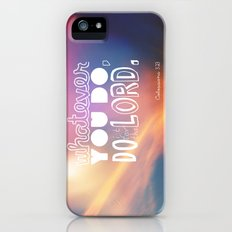do it for the LORD Slim Case iPhone (5, 5s)