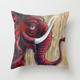 The First Arrival Throw Pillow