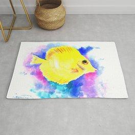 Yellow Angelfish Rug