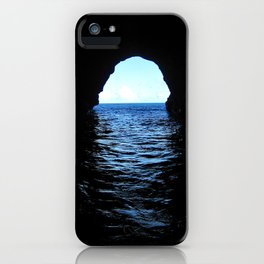 Don't be here at high tide iPhone Case