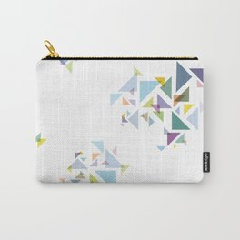Bermuda  Triangles Carry-All Pouch