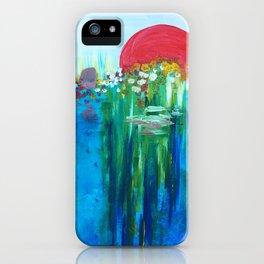 Ocean Sun iPhone Case
