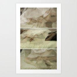 sleeping patterns - trio Art Print