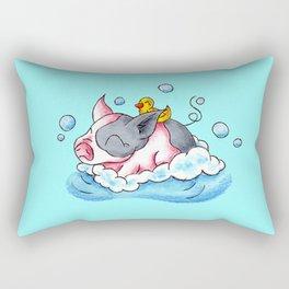 Bath Time! Rectangular Pillow