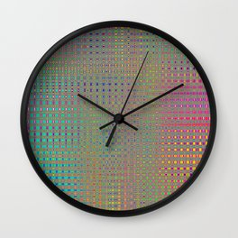 Headache Inducing Rainbow Wall Clock