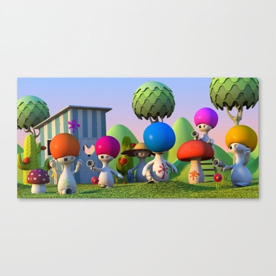 Paintball Canvas Print