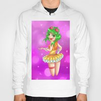 vocaloid Hoodies featuring Vocaloid GUMI by reeree22
