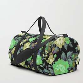 july roses & butterflies Duffle Bag