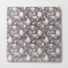 Forest Gnomes Metal Print