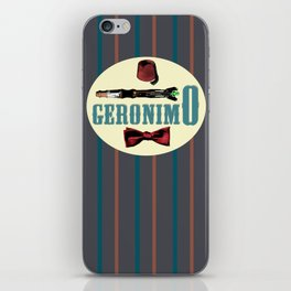"Doctor Who: 11th Doctor - ""Geronimo"" iPhone Skin"
