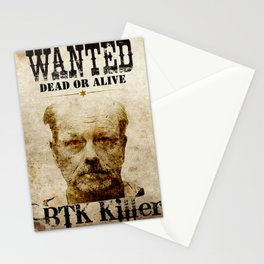 Btk Killer Stationery Cards