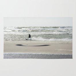 Kite surf France Rug