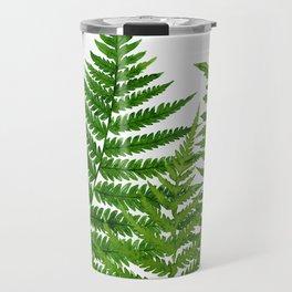 Summer Ferns Travel Mug