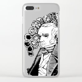 Darwin and His Barnacles Clear iPhone Case