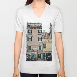 Venetian Windows Unisex V-Neck