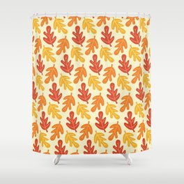 Fall Vibes Pattern Shower Curtain