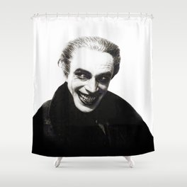 The Men Who Laugh Shower Curtain