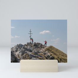 Shipka Pass in Bulgaria Mini Art Print