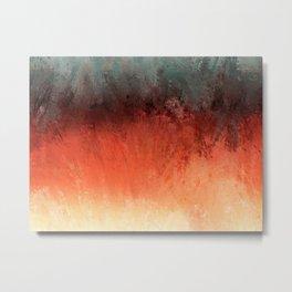 Bushfire Outback Metal Print