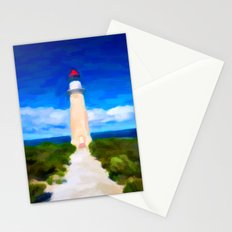 The Lighthouse - Painting Style Stationery Cards