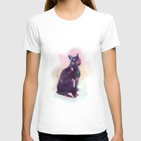 egyptian T-shirts featuring Egyptian cat  by Vita♥G