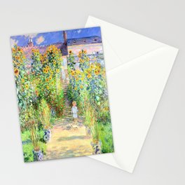 Monets Garden at Vetheuil Stationery Cards