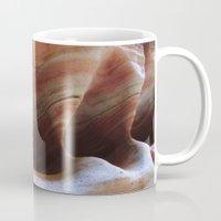 utah Mugs featuring Utah Sandstone by  Rachel M Post