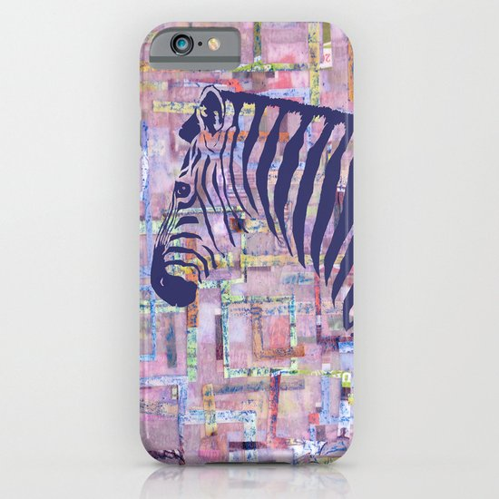 Zelda the Zebra iPhone & iPod Case