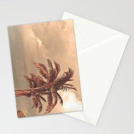Retro Palm Tree Stationery Cards
