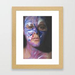 Colors of Women, T.F. Framed Art Print