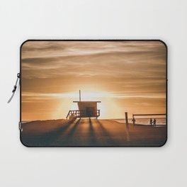 Golden Pier (Color) Laptop Sleeve